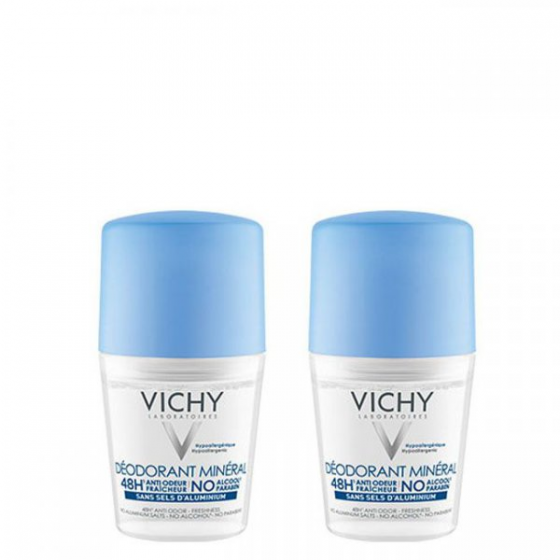 VICHY DEO ROLL ON MIN 50ML DUO