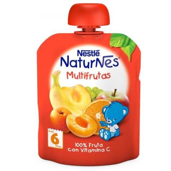 NESTLE NATURNES MULTIFRUTAS 90G 6M