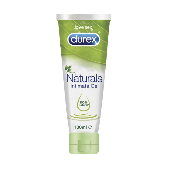 DUREX NATURALS PLEASURE GEL LUBRIF 100ML