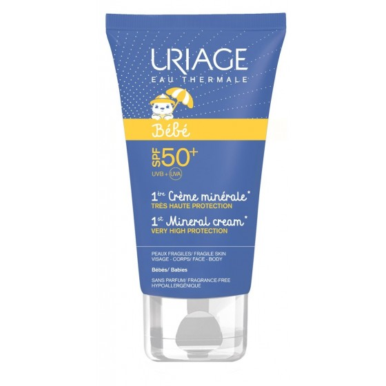 URIAGE BEBE CR MINERALE SPF50+ 50ML