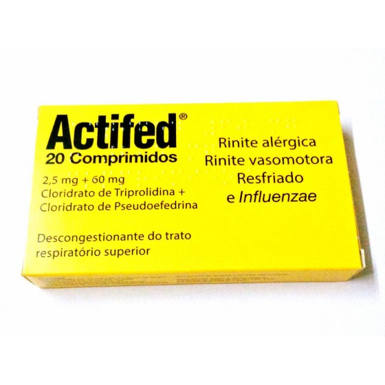 ACTIFED COMP X 20