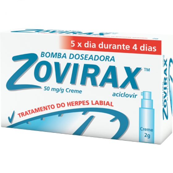 ZOVIRAX CR DOSEADOR 5% 2 G