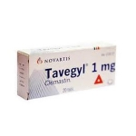 TAVEGYL COMP 1 MG X 10