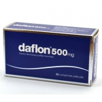 DAFLON 500 COMP REV 500 MG X 60
