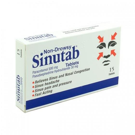 SINUTAB II COMP X 20