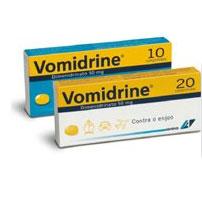 VOMIDRINE COMP 50 MG X 10